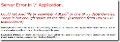 ASP.NET 2.0 error