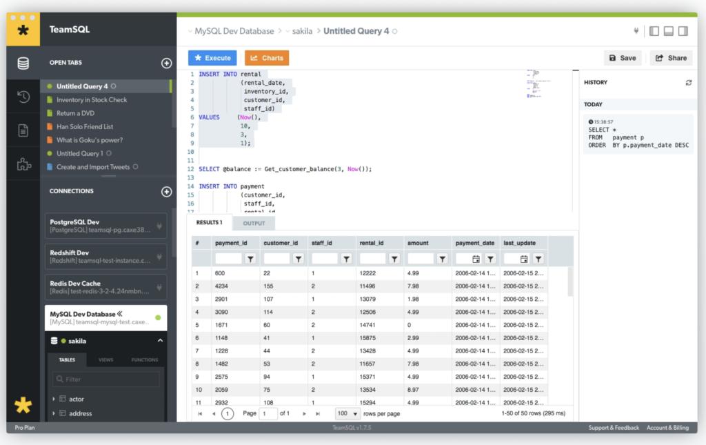 TeamSQL Client